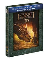 BD - Hobit: Šmakova dračí poušť - Prodloužená verze (5 Blu-ray 3D+2D)