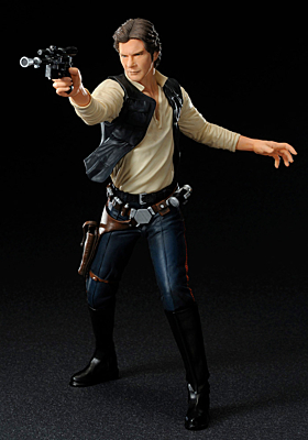Star Wars ARTFX - Han Solo and Chewbacca 2-pack 19cm / 21cm