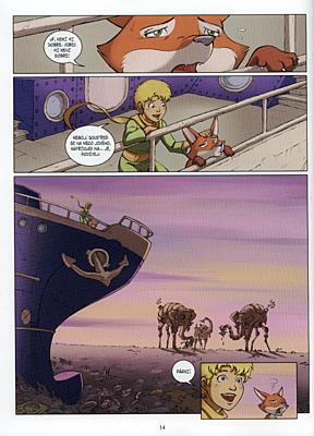 Malý princ a Planeta polykače