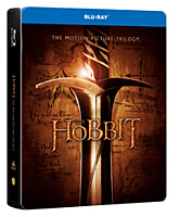 BD - Hobit kolekce 1-3 (6 Blu-ray) steelbook