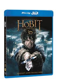 BD - Hobit: Bitva pěti armád (4 Blu-ray 2D+3D)