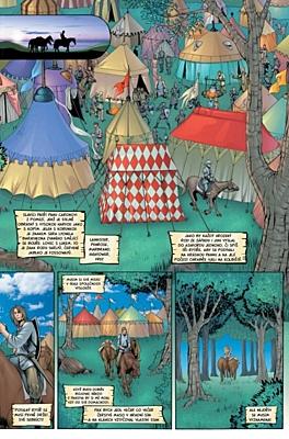 Hra o trůny - Grafický román: Předehra - Potulný rytíř