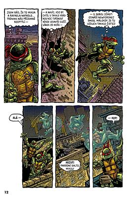 Želvy Ninja 02: Menu číslo 2