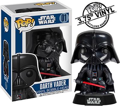 Star Wars - Darth Vader POP Vinyl Bobble-Head Figure