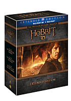 BD - Hobit kolekce 1-3 - Prodloužená verze (15 Blu-ray 3D+2D)