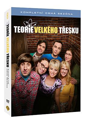 DVD - Teorie velkého třesku - 8. série (3 DVD)