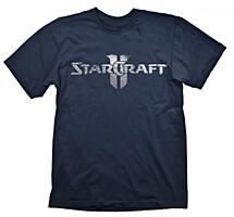 StarCraft 2 - Tričko StarCraft Logo Silver L