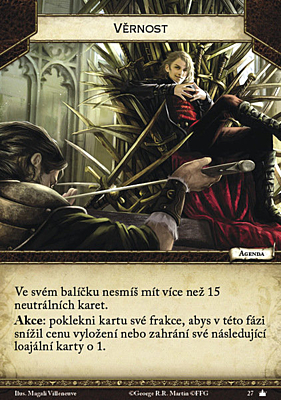 Hra o trůny - karetní hra