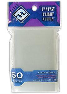 FFG obaly Clear - Standard European Board Game 50ks
