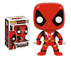 Marvel Comics - Deadpool Two Swords POP Vinyl Bobble-Head Figure