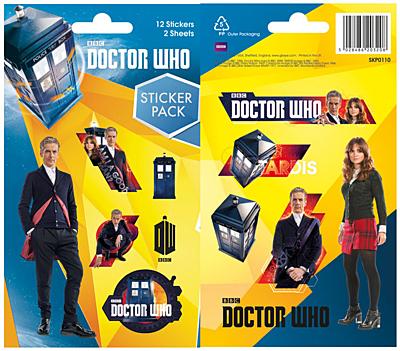Doctor Who - Sada samolepek