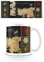 Game of Thrones - Hrnek Mapa