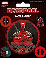 Deadpool - Sada samolepek
