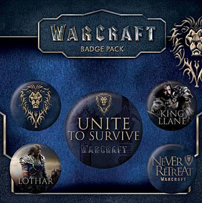 WarCraft - placky 5ks - Alliance