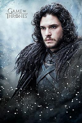 Game of Thrones - plakát Jon Snow 61x91cm
