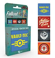 Fallout - tácky, sada 4ks Mix