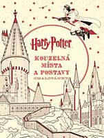 Harry Potter: Kouzelná místa a postavy (omalovánky)