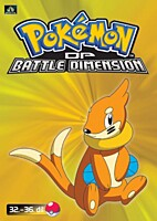 DVD - Pokémon: Diamond and Pearl - Battle Dimension 07 (epizody 32-36)