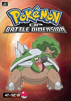 DVD - Pokémon: Diamond and Pearl - Battle Dimension 10 (epizody 47-52)