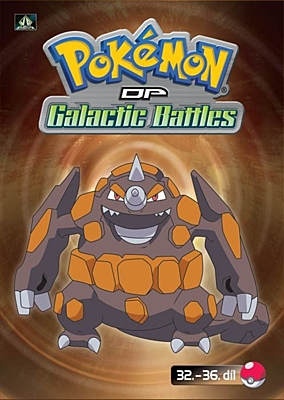 DVD - Pokémon: Diamond and Pearl - Galactic Battles 07 (epizody 32-36)