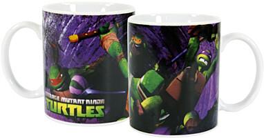 Teenage Mutant Ninja Turtles - Hrnek Fight