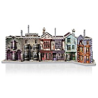 Harry Potter - 3D Puzzle - Diagon Alley (Příčná ulice)