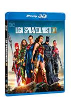 BD - Liga spravedlnosti (2 Blu-ray 3D+2D)
