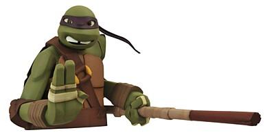 Teenage Mutant Ninja Turtles - Donatello pokladnička