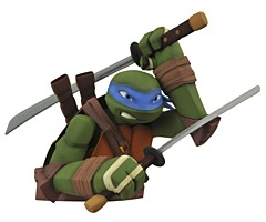 Teenage Mutant Ninja Turtles - Leonardo pokladnička