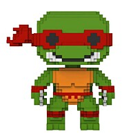 Teenage Mutant Ninja Turtles - Raphael 8-bit POP Vinyl Figure