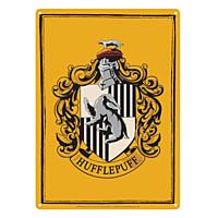 Harry Potter - Plechová cedule Mrzimor (Hufflepuff) 21x15 cm