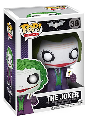 Dark Knight Trilogy - Joker POP Vinyl Figure