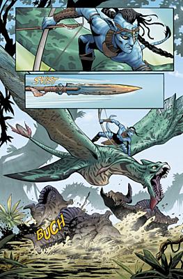 Avatar 01: Tsu'tejův příběh