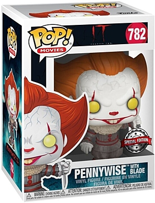 It (To) Chapter 2 - Pennywise with Blade Special Edition POP Vinyl Figure