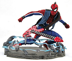 Spider-Man - Spider-Punk Marvel Video Game Gallery PVC Statue 18 cm (GameStop exlusive)