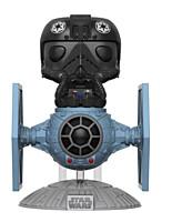 Star Wars - Tie Fighter Pilot with Tie Fighter POP Vinyl Bobble-Head Figure