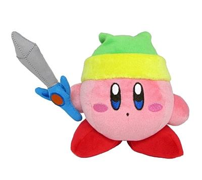 Kirby - Plyšák Kirby with Sword 13 cm