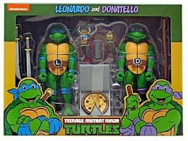 Teenage Mutant Ninja Turtles (TMNT) - Leonardo and Donatello Action Figure (54102)