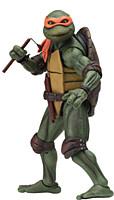 Teenage Mutant Ninja Turtles (TMNT) - 1990 Movie - Michelangelo Action Figure 18 cm