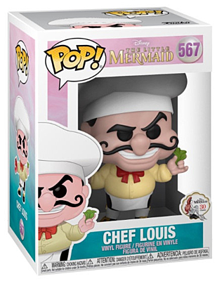 Little Mermaid - Chef Louis POP Vinyl Figure