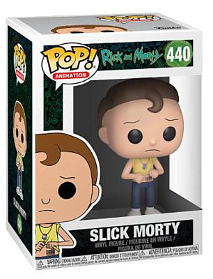 Rick and Morty - Slick Morty POP Vinyl Figure
