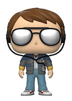 Back to the Future - Marty with Glasses POP Vinyl Figure