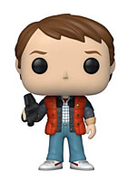 Back to the Future - Marty in Puffy Vest POP Vinyl Figure