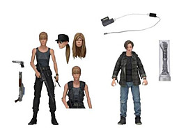 Terminator 2 - Sarah Connor and John Connor 2-pack Action Figures