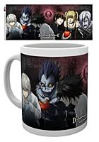 Death Note - Hrnek Characters