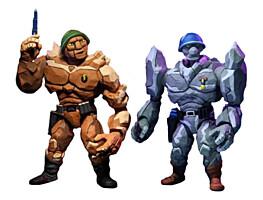 Teenage Mutant Ninja Turtles (TMNT) - Traag and Granitor Action Figure