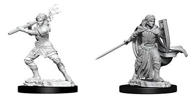 Figurka D&D - Human Female Paladin - Unpainted (Dungeons & Dragons: Nolzur's Marvelous Miniatures)