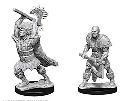 Figurka D&D - Goliath Male Barbarian - Unpainted (Dungeons & Dragons: Nolzur's Marvelous Miniatures)