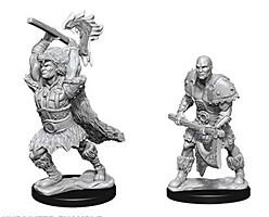 Figurka D&D - Goliath Male Barbarian - Unpainted (Dungeons & Dragons: Nolzur's Marvelous Miniatures)