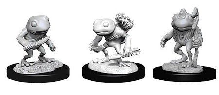 Figurka D&D - Grung - Unpainted (Dungeons & Dragons: Nolzur's Marvelous Miniatures)